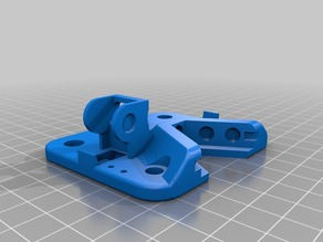 TEVO Tarantula Banholm Magnetic X Carriage Chain Mount for 6mm Magnetcs