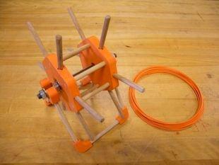 Printable Filament Spool