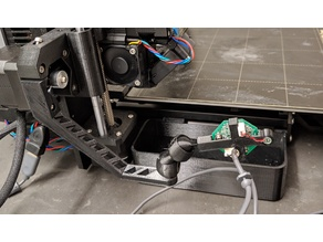 "Logitech c200 camera mount for ""rPi camera ball and socket"" system"