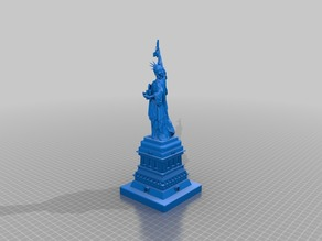 Statue Of Liberty with gun and dynamite