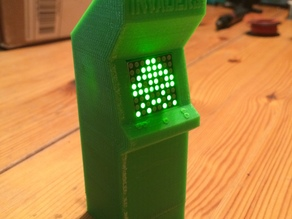 Invaders! Mini Arcade Game Cabinet