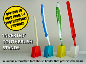 Inverted Tooth Brush Stands