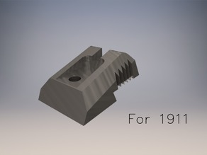 Novak Style Fixed Sight For 1911