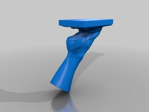 """Modification to """"3D scan of Right Foot of the Dancer Fanny Elssler"""" by oliverlaric"""