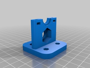 X carriage for J head Hotend with inductive proximity sensor E3D / Hexagon