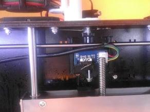 CTC Endstop Z-Achse Schlitten Aufnahme Knopf Verstellbar Adjustment(Überarbeitet)