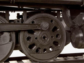 Drive Wheel 4-8-8-4 Big Boy Locomotive
