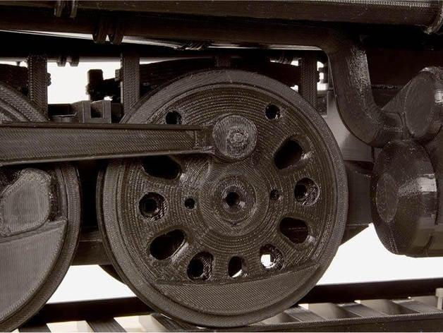 Drive Wheel 4 8 8 4 Big Boy Locomotive By Makerbot