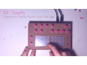 Mr. Touchy Teensy PolySynth+Drum Machine