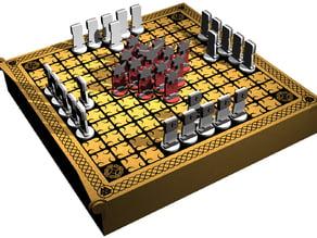 Viking Board Game - Hneftafl