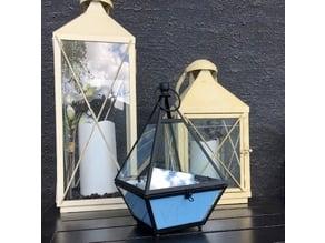 Glass Pyramid Planter Insert