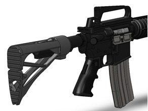 Airsoft stock for M4/AR15 - 4