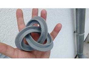 Escher-Style Torus Knot