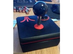 Atari Joystick with Arcade Parts
