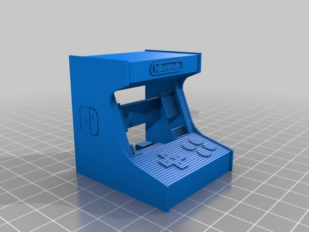 3D Slash) Assembled_look__DO_NOT_PRINT_THIS by Library3d