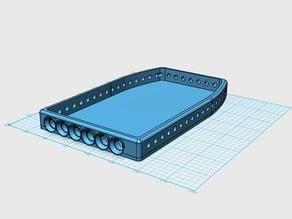 RC Jeep Roof Rack 10mm LEDS