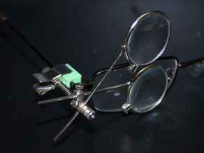 Eyeglass Loop Mount Block