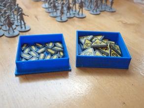 Zombicide pieces tray box
