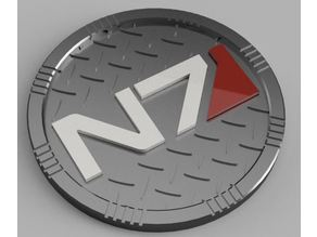 Mass Effect N7 Coaster