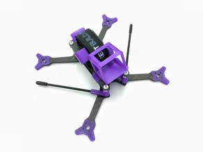 Rotorious FPV Zoot SQ12 & Firefly HD DVR Camera Mount