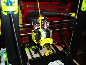 Wanhao i3 X Cable Chain Riser with filament guide