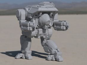 DWF-Prime Dire Wolf for Battletech