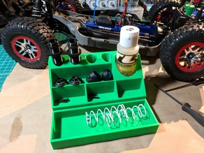 RC Vehicle Shock Maintenance Station
