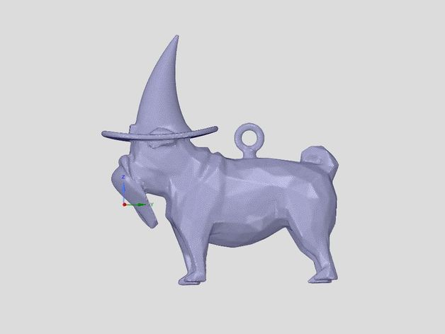 wizard pug by stubel07 thingiverse