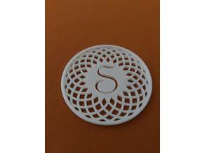 Circle pattern coasters