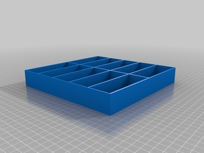 Simple Small parts tray