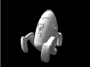 Zyntari Security Robot (28mm/Heroic scale)