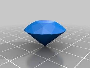 Diamond shape, Brilliant cut 58