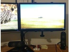 VESA Mount for Philips 247E6QDSD Monitor