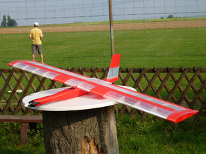 """Red Swan"" the biggest fully printed Flying Wing"
