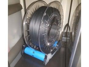 Smart spool holder