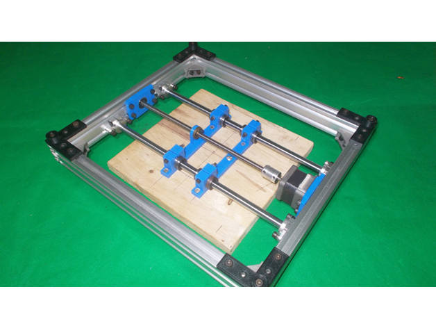 DIY XY Axis Bed Base Frame here