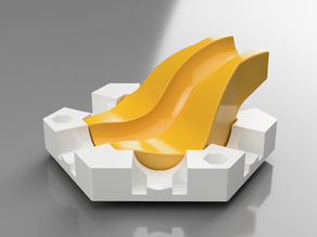 Gravitrax compatible wave slide