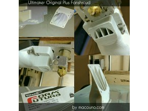Ultimaker Original Plus Fanshroud