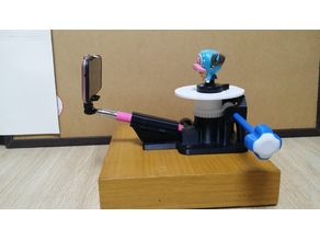 DIY 3D Scanning turntable with selfie stick