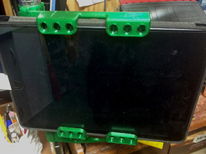Ipad holder for Lowe's wire shelf - 25.5mm