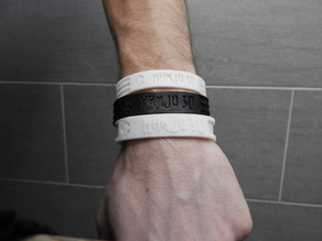 Bracelet ThermoForm Customizable