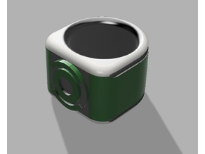 Custom Green Lantern ring