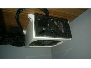 PC Power Supply Mount (Under Desk/ATX Compatible)