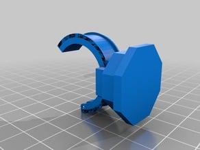 Universal radius clamp