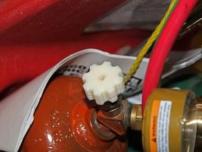 Acetylene Cutting Torch Tank Knob