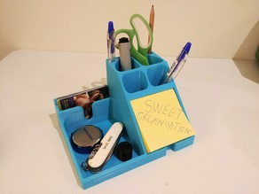 Desk organiser - Post it notes, business cards, pens etc
