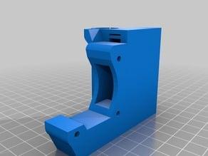 X end motor- soporte end stop X-regulable Z