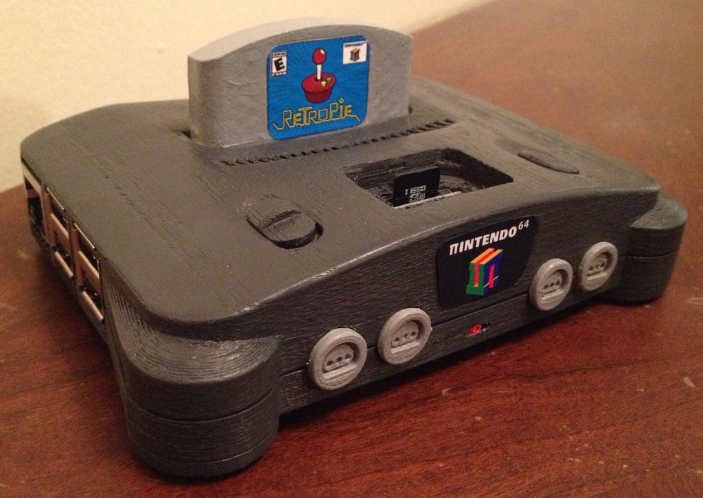 π64 (mini N64 retro game case) by elhuff - Thingiverse