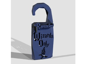 """Wizards Only"" Ravenclaw - by Objoy Creation"