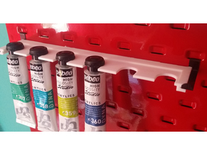 Parametric paint shelves for Clarke CWR50 Metal Tool Board